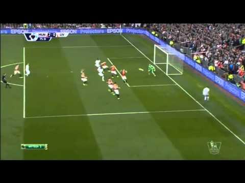 МЮ - Ливерпуль нападающий Ливерпуля почти сокращает счет