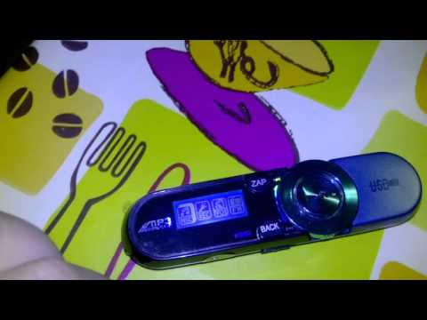 Everbuying USB LCD Reproductor portátil de MP3 de la pantalla YT-03 2GB