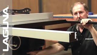 Laguna Tools Fusion Tablesaw Setup - Level The Saw - Part 12 Of 18