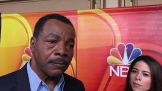 Repeat youtube video Carl Weathers Talks 'Chicago Justice' & Jim Brown Visiting Trump