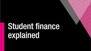 Student Finance Explained thumbnail
