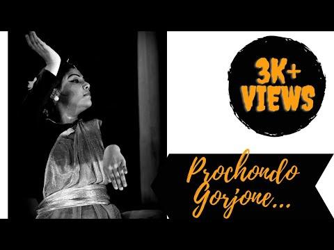Dance performance of Prochondo gorjone sang by Sounak Chattopadhyay