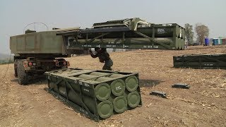 How The HIMARS Gets Reloaded thumbnail