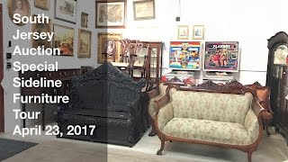 April 23, 2017 Special Sideline Furniture Tour - South Jersey Auction