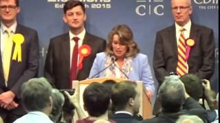 Edinburgh West - General Election Declaration