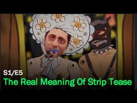 real pornostar strip tease