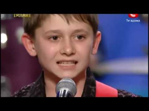 Gruppa Krovi - Kino (Niños en programa Ukraine GOT Talent)