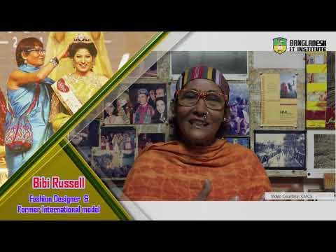 Bibi Russell Bangladeshi Fashion Designer Former Model Youtube