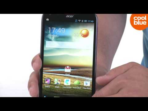 Acer Liquid S2 smartphone productvideo (NL/BE)