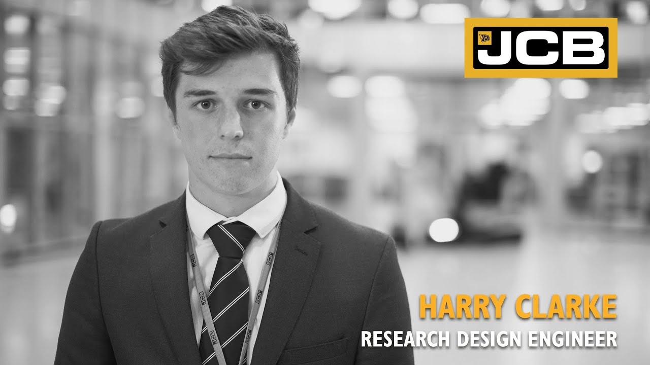JCB Careers Stories - Harry Clarke, Research Design Engineer
