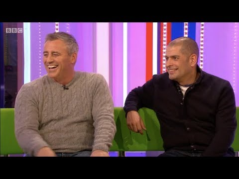 Top Gear hosts Matt LeBlanc & Chris Harris on The One Show. 21 Feb 2018