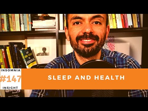 Insomnia insight #147: Health and sleep, why you should worry less and sleep more