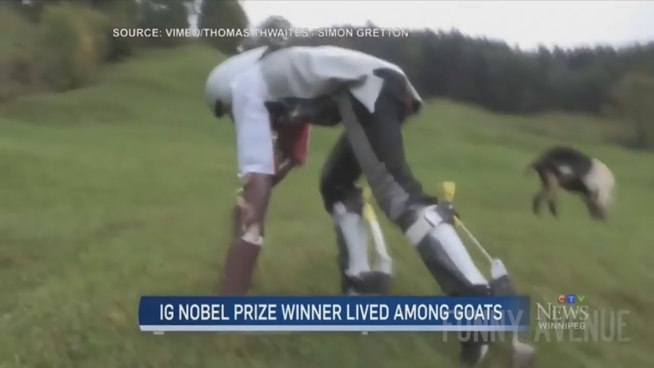 British Man Decided To Become a Goat and Live like a Goat