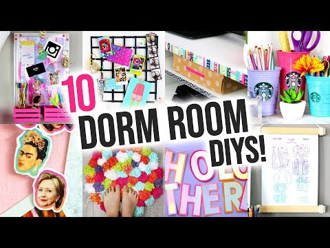 10 Easy DIY Dorm Room Decorations