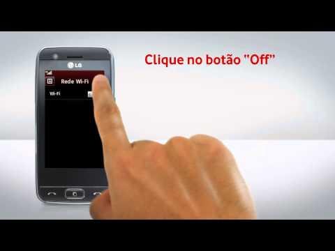 LG GT505 - Configuração de Wi-Fi