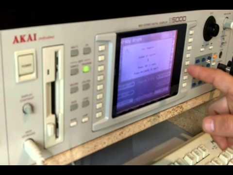 Akai S5000 Drum Kit Tutorial - Part 1