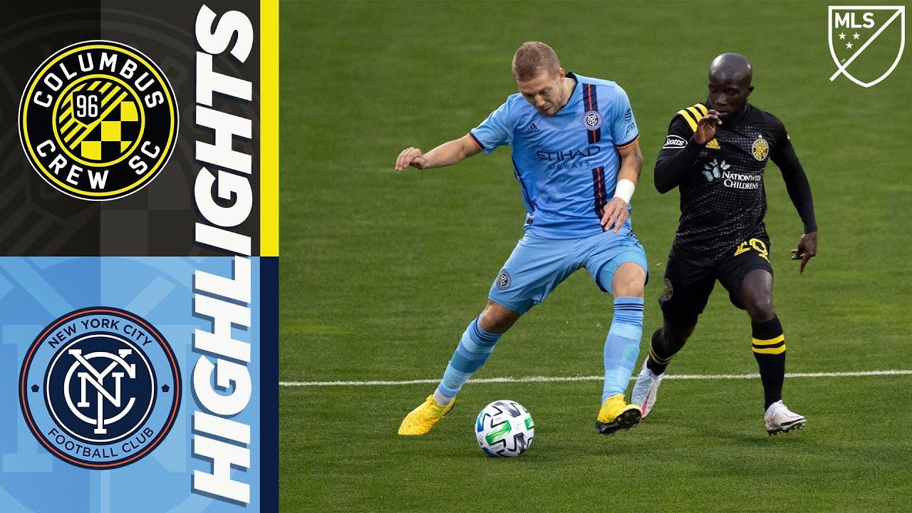 Columbus Crew SC vs. New York City FC   October 18, 2020   MLS Highlights