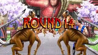 Mortal Kombat Mugen Tournament Удачное выживание в 72 раунда!!!