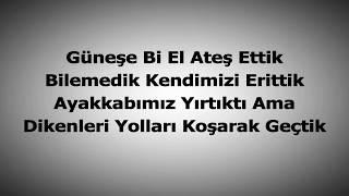 Çağatay Akman - Bizim Hikaye Sözleri (Lyrics)