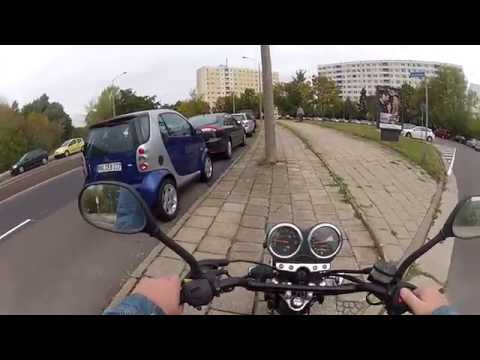 MotoVlog 006 - Fahrt nach Halle Neustadt