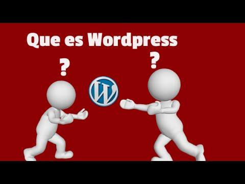 Que es Wordpress | y como funciona wordpress video tutorial - YouTube