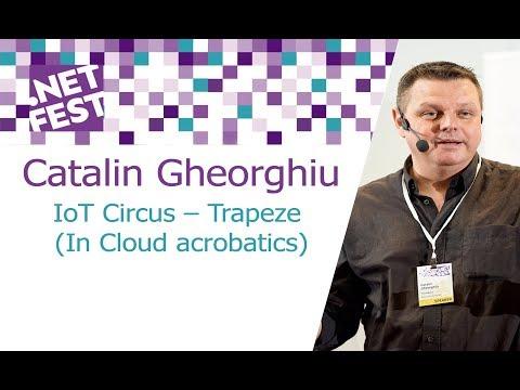 "Catalin Gheorghiu ""IoT Circus – Trapeze (In Cloud acrobatics)"""