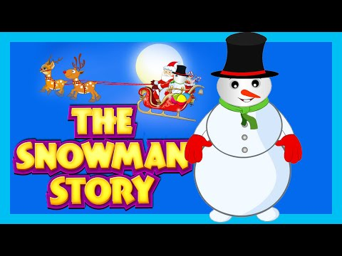 THE SNOWMAN - HARRY | HARRY THE HAPPY SNOWMAN - STORY FOR KIDS | SANTA AND THE SNOWMAN thumbnail