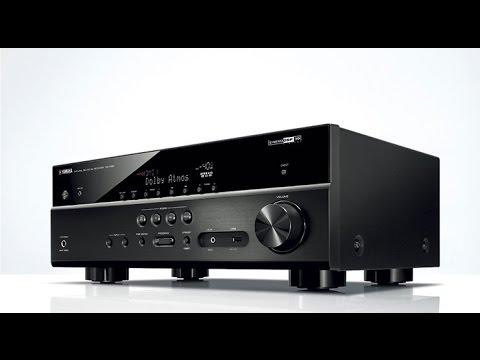 yamaha rx-v581 7.2 channel av receiver - youtube