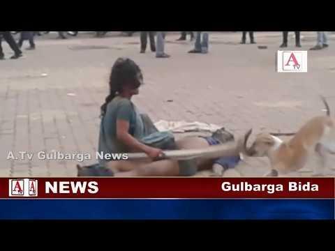 Gulbarga Me Aurat Ki Murde K Sath Ajeeb-O-Gareeb Harkat A.Tv News 17-5-2017