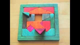 Stop-motion - Homemade Puzzle