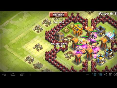 Castle Clash - IOS Clover, HBM Without TG, And Wave I