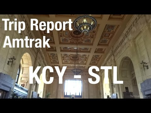 TRIP REPORT - Amtrak Missouri River Runner, Kansas City to St. Louis