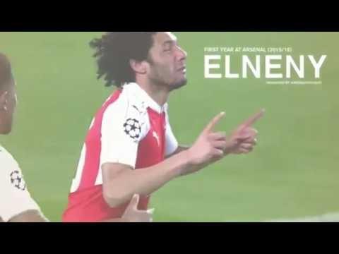 Mohamed El Neny Arsenal Player | Hall Of Fame | 2016