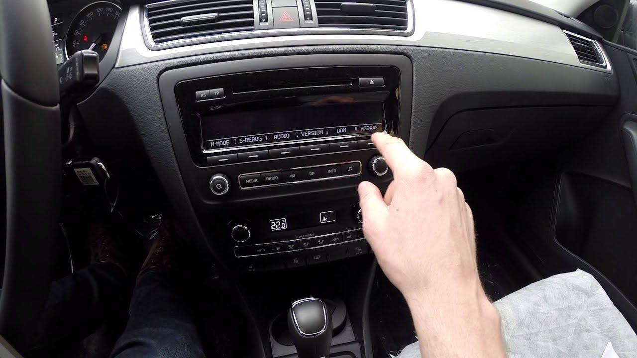 Skoda Rapid Swing сервисный режим и режим автошколы