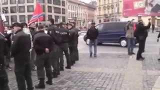 Фашиста Порошенко встретили в Словакии с флагом Новороссии!!! ДНР ЛНР Новости сегодня Украина