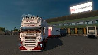 Euro Truck Simulator 2 Scania R730 Tandem *Hofer Transporte*