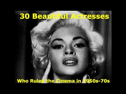30 Beautiful Actresses Who Ruled The Cinema In 1950s-1970s