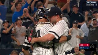 CLE@NYY Gm4: Kahnle K's Chisenhall, records the save