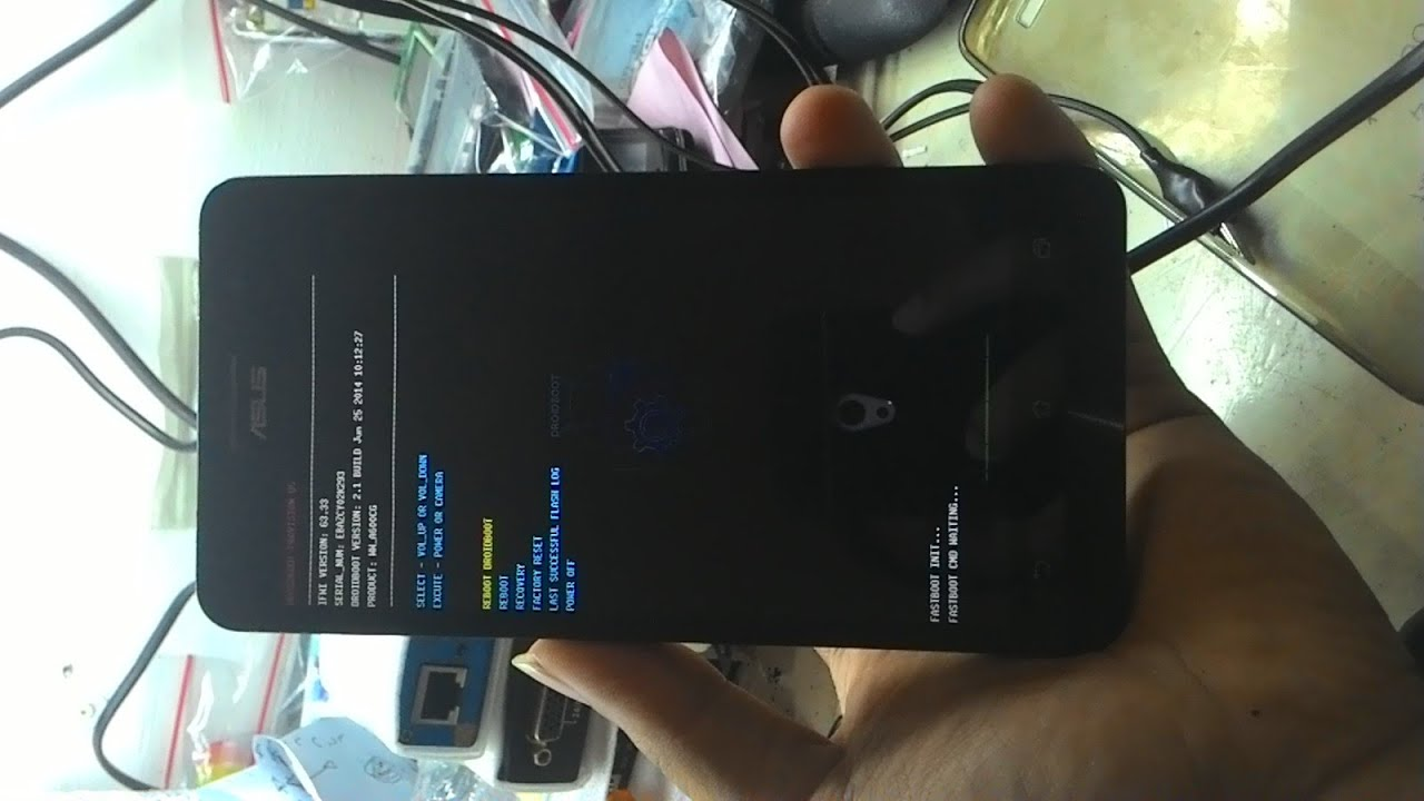 Asus Zenfone 6 Bootloop Done Solved With Fastboot Youtube