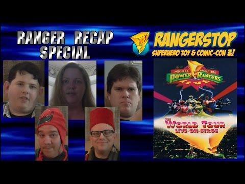 Ranger Recap Special - Power Rangers: LIVE Tour Review.