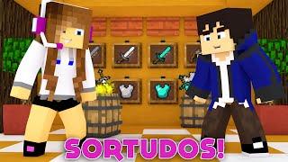 Minecraft: SORTUDOS - PRIMEIRA VÍTORIA! (MINIGAME NOVO)
