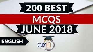 200 Best current affairs JUNE 2018 in ENGLISH Set 1  - IBPS PO/SSC CGL/UPSC/KVS/IAS/RBI Grade B 2018