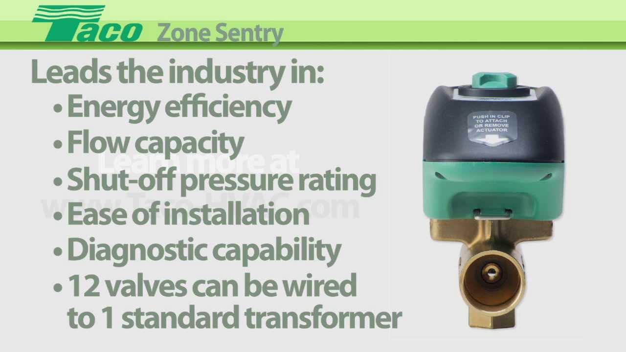 hight resolution of zone sentry zone valve