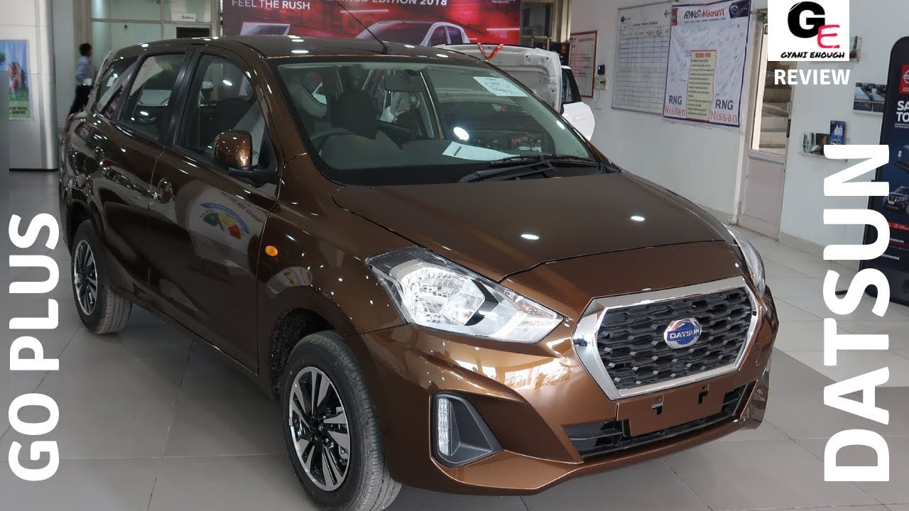 2018 Datsun Go Plus T(O) | most detailed review | features ...