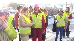 WUCES at the Rouskis solid waste field at Salo
