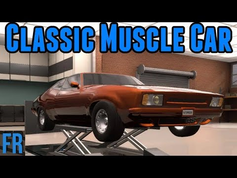 Automation Challenge - Classic Muscle Car