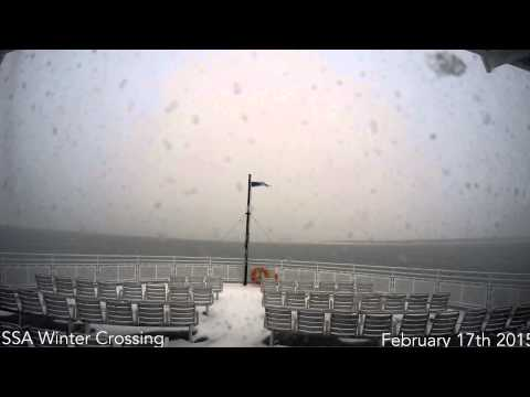 Steam Ship Authority Winter Crossing: GoPro