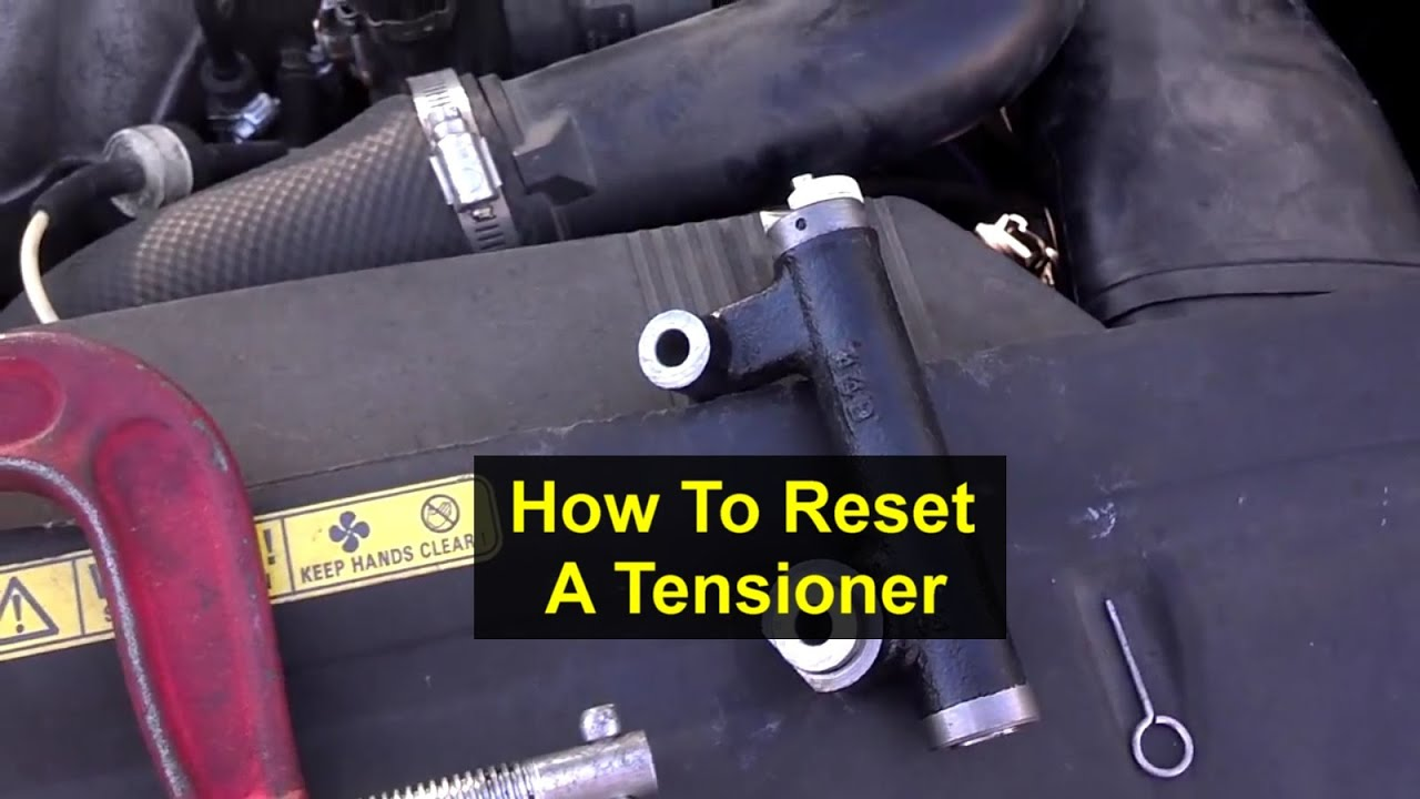 How To Compress And Reset A Hydraulic Timing Belt Tensioner Votd Dayco Volkswagen Idler