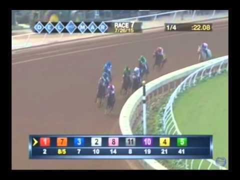 Songbird - 2015 Del Mar Maiden Race - First Place Finish