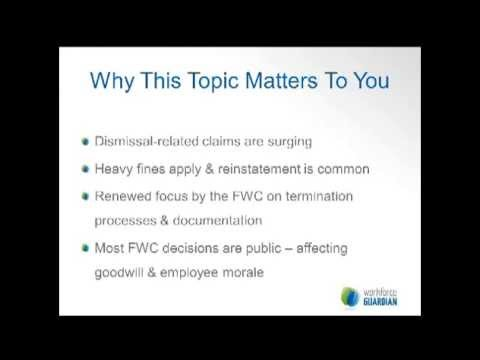Webinar: Termination of Employment
